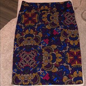 Like New LuLaRoe Skirt - beautiful fall colors!!